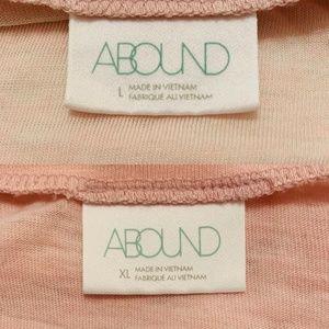Abound Tops - NEW Abound Burnout V-Neck Tee